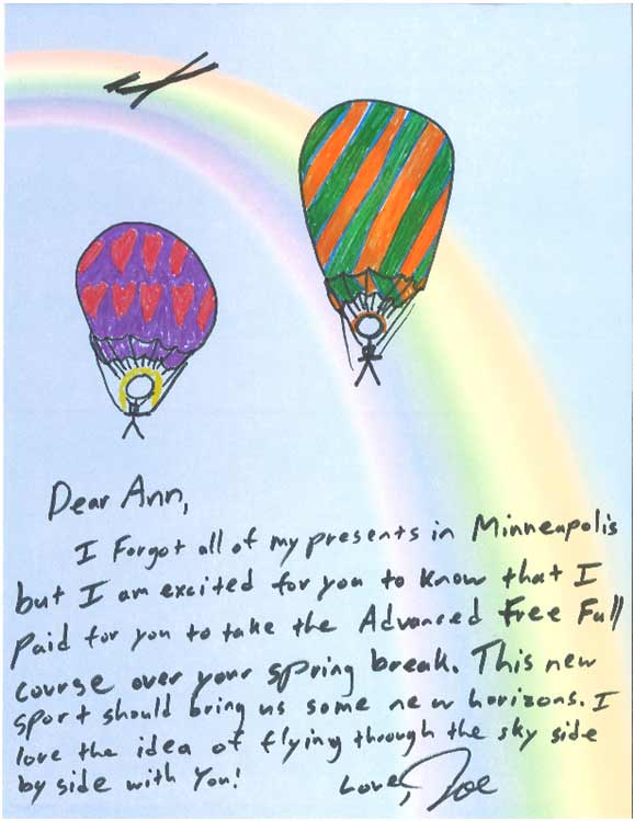Joe's Letter